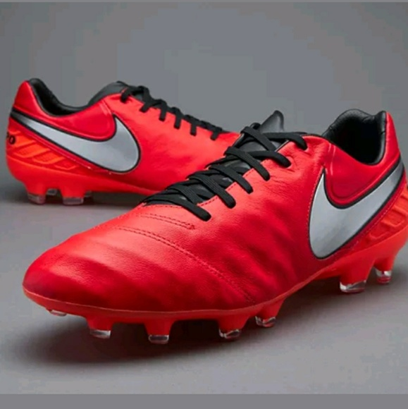 Nike Tiempo Genio Leather II FG Mens Boys Soccer 14fb34789